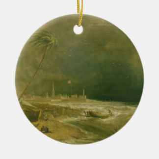 Madras, or Fort St. George, in the Bay of Bengal - Christmas Ornament