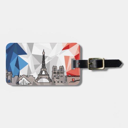 Madrid and Paris Luggage Strap Luggage Tag
