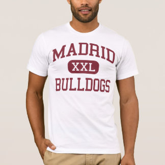 Madrid - Bulldogs - Middle - El Monte California T-Shirt