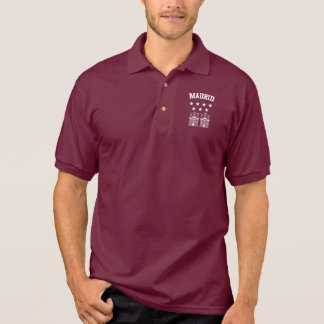Madrid Coat of Arms Polo Shirt