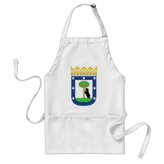 Madrid Coat Of Arms Standard Apron