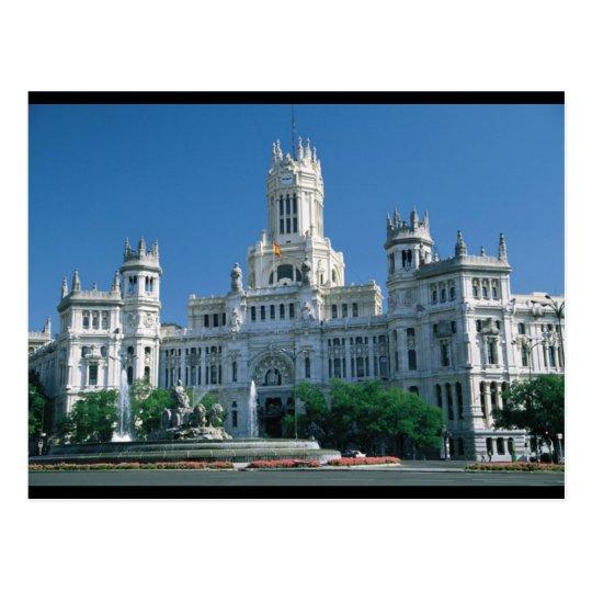 Madrid Communications Palace Postcard