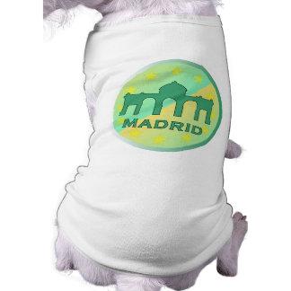 Madrid Sleeveless Dog Shirt