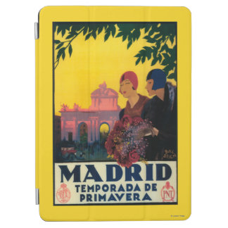 Madrid in Springtime Travel Promotional Poster iPad Air Cover
