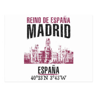 Madrid Postcard