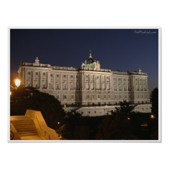 Madrid Royal Palace Poster
