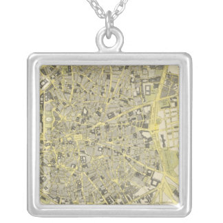 Madrid Silver Plated Necklace