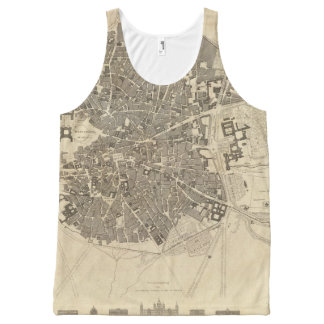 Madrid, Spain All-Over Print Tank Top
