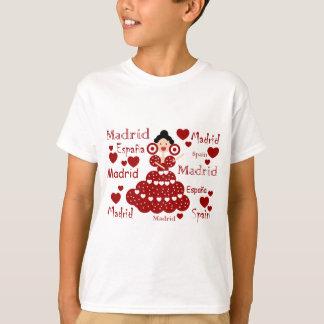 Madrid Spain flamenco wrist T-Shirt