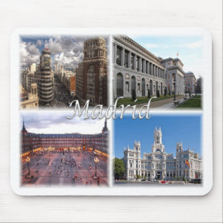 Madrid Spain Mouse Mat