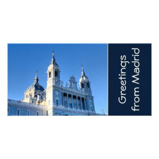 Madrid Spain Photo Card