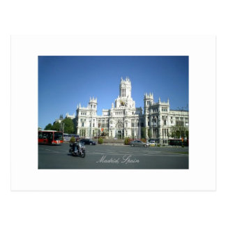 Madrid, Spain - Postcard