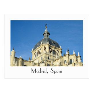 Madrid, Spain  Postcard
