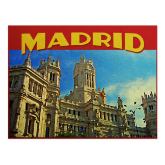 Madrid Spain Postcard