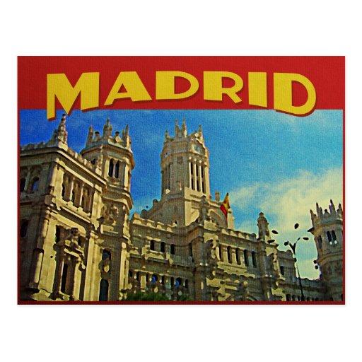 Madrid Spain Postcard