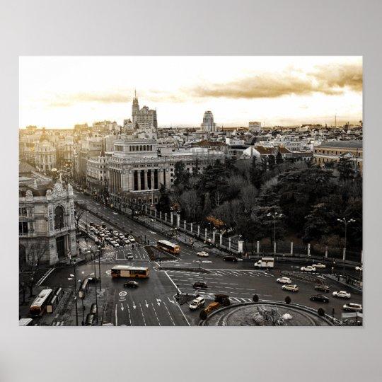 Madrid Spain Poster
