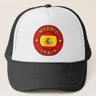 Madrid Spain Trucker Hat