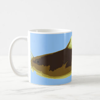 Madtom Catfish on Blue Coffee Mug