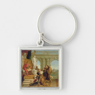 Maecenas Presenting the Liberal Arts to the Empero Key Chain