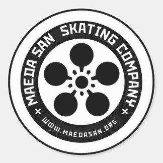 maedasan Skateboard Stickers