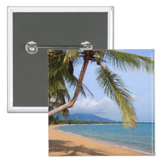 Maenam beach. 15 cm square badge