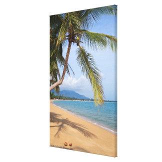 Maenam beach. canvas print
