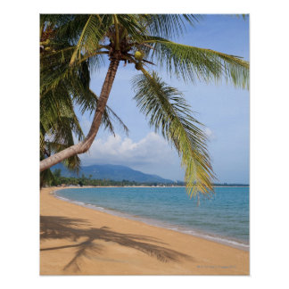 Maenam beach. poster