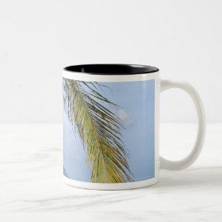 Maenam beach. Two-Tone coffee mug
