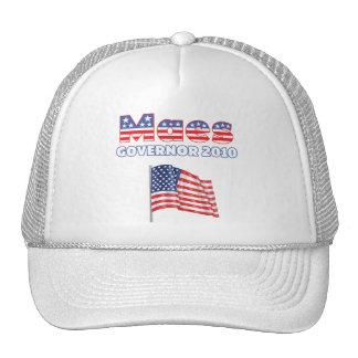 Maes Patriotic American Flag 2010 Elections Mesh Hat