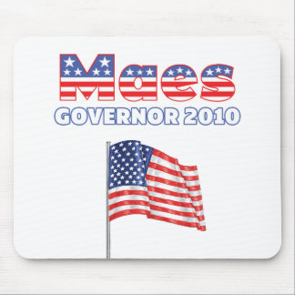 Maes Patriotic American Flag 2010 Elections Mousepad