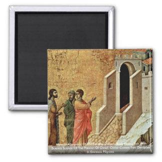 Maestà Altarpiece Of The Sienese Duomo Fridge Magnets