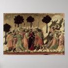 Maesta: Betrayal of Christ, 1308-11 Poster