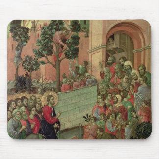 Maesta: Entry into Jerusalem, 1308-11 Mouse Pad