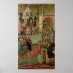 Maesta: Entry into Jerusalem, 1308-11 Poster