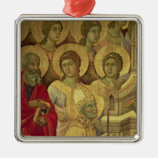 Maesta: Saints, , 1308-11 Christmas Ornament