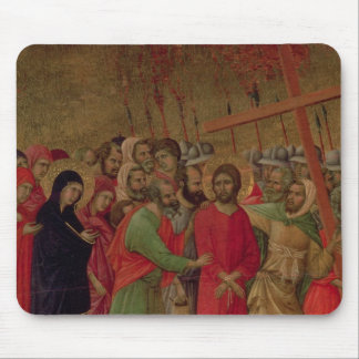 Maesta: The Road to Calvary, 1308-11 Mouse Pad