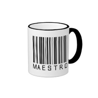 Maestro Bar Code Mug