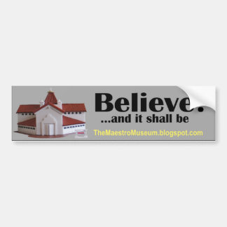 Maestro Gaxiola - Maestro Museum Bumper Sticker