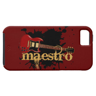 Maestro Grunge Electric Guitar iPhone 5 Cover