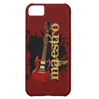 Maestro Grunge Electric Guitar Cover For iPhone 5C