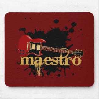 Maestro Grunge Electric Guitar Mousepad