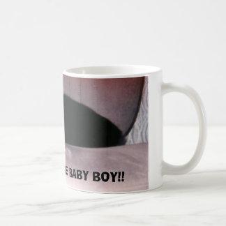 """MAESTRO, MOMMY""""S LITTLE BABY BOY!! BASIC WHITE MUG"""