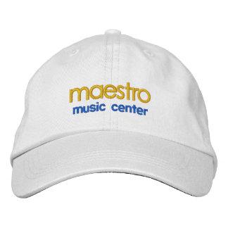 maestro music center cap baseball cap