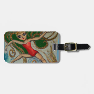 Maeve with Flame and Wave Luggage Tag