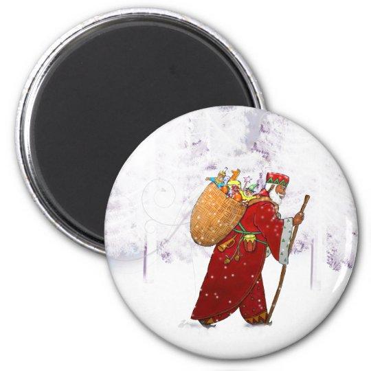 MAG010 Santa Magnet