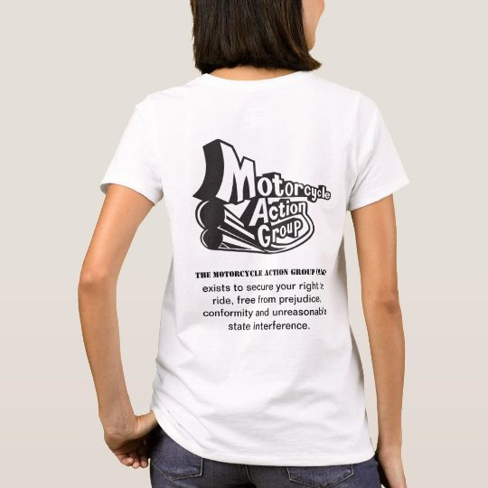 MAG Mission Statement Ladies T Shirt