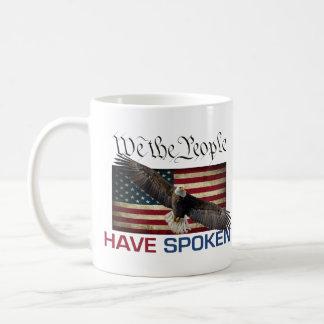 MAGA Coffee Mug - We The People Have Spoken