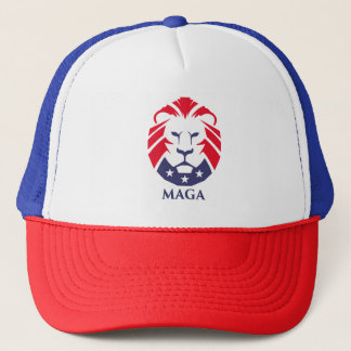 MAGA Lion Trucker Hat