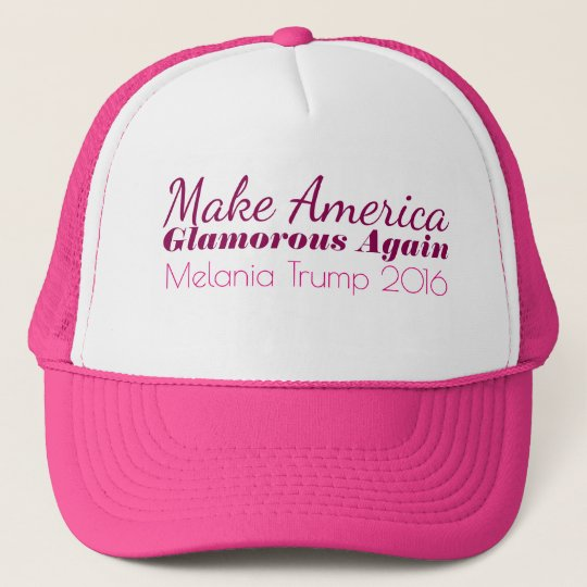 MAGA Make America Glamourous Again Melania Trump Trucker