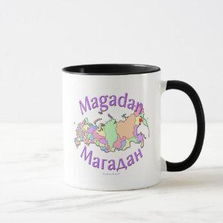 Magadan Russia Map Mug